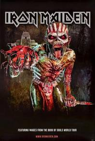 Poster IRON MAIDEN The Book of Souls (2015) POSTER