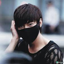 Face mask lee min ho 3 layer