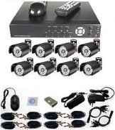Sport cctv house with installation