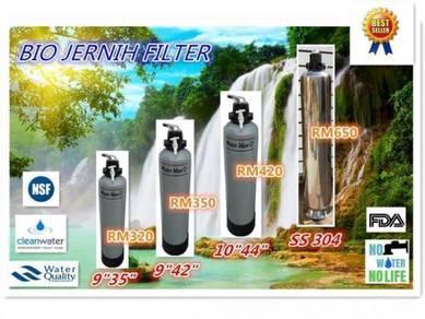 Water Jernih Filter / Penapis Air siap pasang m9y