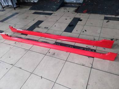 Perodua bezza original oem side skirt bodykit used