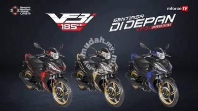 New SYM VF3 185i 185 V3 Pro ABS Super Moped Low DP