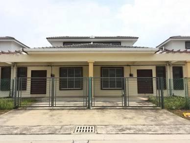 Rmh BARU FULL Loan REBAT 36K FREE SPA Jln Kapar 20x60 3R2B Meru Klang