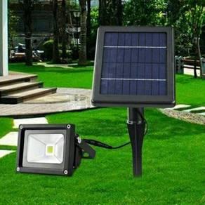 Led floodlight solar panel