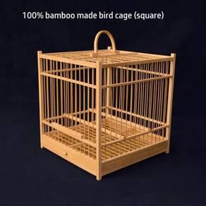 Clear Stock Square Bird Cage Sangkar Burung