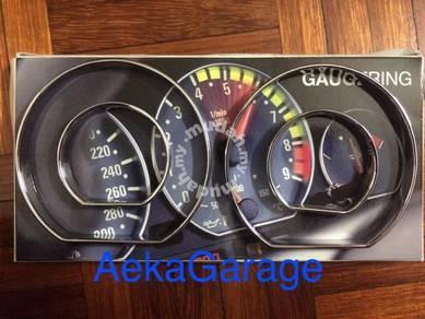 BMW E30 E36 E46 E38 E39 SpeedoMeter Chrome Ring