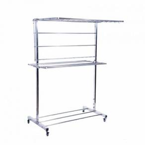 Stainless Steel Foldable Cloth Hanger Drying Rack