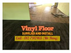 Simple Vinyl Floor with Installation 75L7