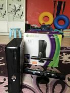 Xbox 360 black edition with kinect