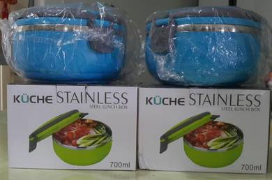 Kuche stainless steel lunch box food container