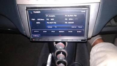 Player radio original kenwood