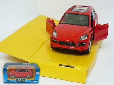 Porsche Cayenne S Turbo 1/32 diecast car - Red