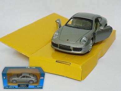 Porsche Carrera S 1/36 Die cast Model car - Grey