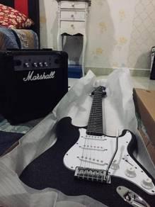 Gitar eletrik complete set