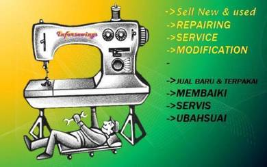 Repairing sewing machine & teach b3074