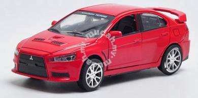 Mitsubishi EVO X 1:32 collection diecast (Red)