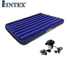Intex green tilam angin air bed single