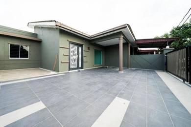 30x65 Modern Design END LOT 1STY Taman Sentosa Nr SHELL Bandar Puteri