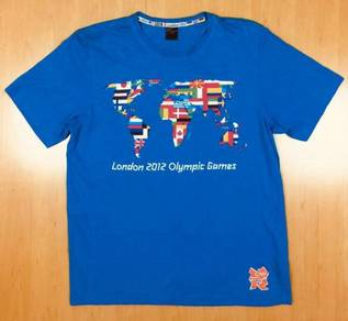 London 2012 Olympic Tee Used