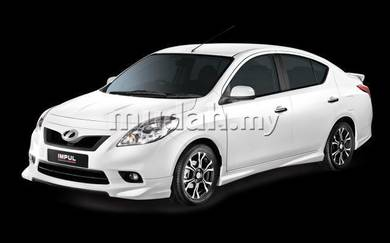 Nissan almera nismomo bodykit with paint ori abs