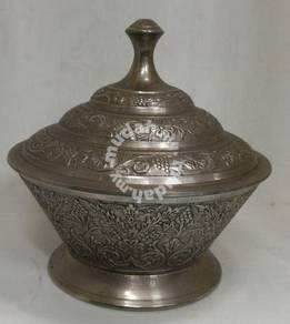 Elegance Bowl & Cover With Decorative Pattern