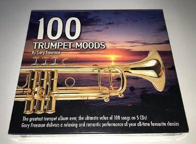 IMPORTED CD 100 Trumpet Moods By Gary Freeman (5CD