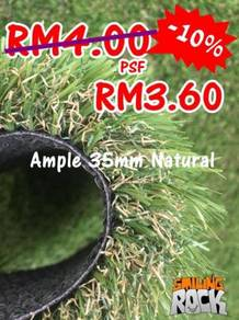 Artificial Grass | Rumput Tiruan 35mm Natural 66