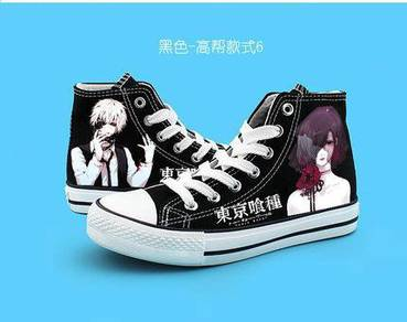 Anime Tokyo ghoul canvas shoes
