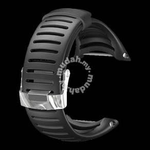 18RAG SUUNTO CORE Light Elastomer Strap Black