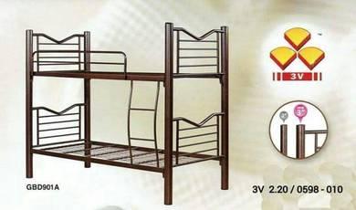 Double decker metal single bed (GBD-901A)26/04