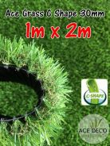 Artificial Grass / Rumput Tiruan C30mm N (1m x 2m)
