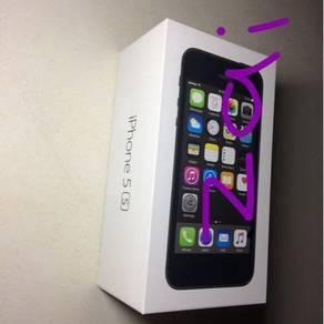 Iphone 5s 16gb myset & box