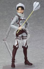 MISB Figma #EX-020 Levi Cleaning Attack On Titan