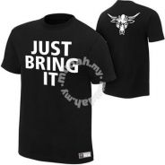WWE WWF The Rock Just Bring It Sleeveless Singlet