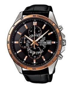 Watch - Casio Edifice Leather EFR512L-1A -ORIGINAL