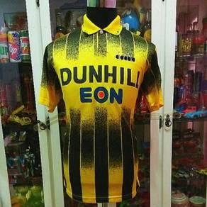 Vtg Diadora Pahang FA 92 Dunhill Eon Liga M Jersey