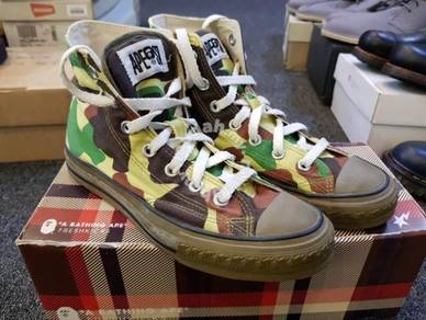 Bathing Ape Star Bape Like Converse 5.5US 23.5cm