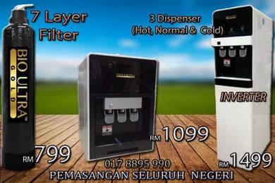 WATER Filter / Penapis Air 3 Model TERBAIK - MB06