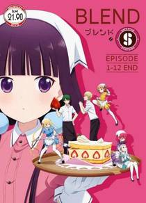 DVD ANIME Blend S Ep.1-12 End