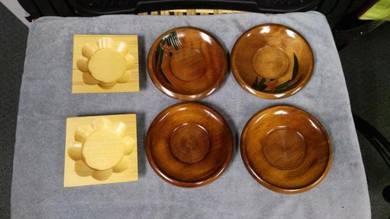 Aipj Japan made assorted wood coaster