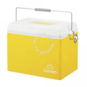 18rag coleman 28qt retro steel cooler (yellow)