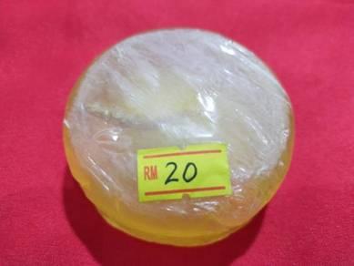 Ginseng honey soap