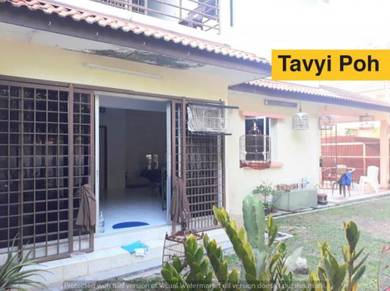 Double Storey Terrace Sungai Ara Corner Renovated