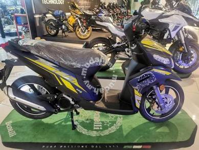 Skuter vz125 offer deposit rendah(ic payslip)