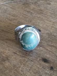 Silver Ring Jade V3 Batu JED Cincin