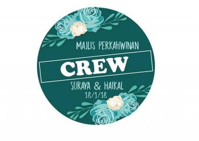Cetak Stiker Sticker Majlis Tunang Kahwin