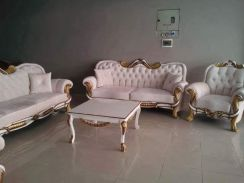 Sofas gold white