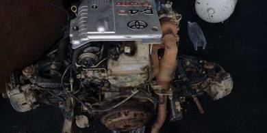 Hilux 2Kd complete engine manual gearbox 4wd