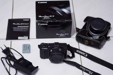 Like New Canon Powershot G1X Mark 2 (F2 24-120mm)