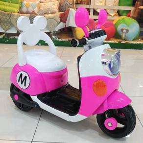 Offer Minnie Mouse Scooter For Kid ride